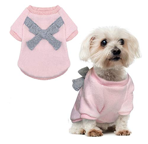 (QY Pet Small Dog Winter Cat Sweater Warm Jacket Coats Clothes (XS))