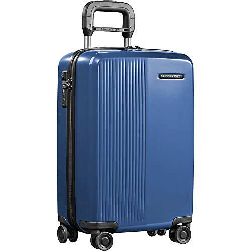 Briggs & Riley Sympatico International Carry-On Spinner, Marine Blue, 21 Inch