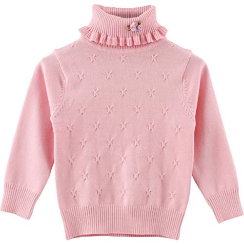 QQBBGL Girls Spring Sweaters Little Kids Pullover Sweaters Baby children Casual Clothes