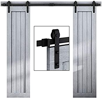 Amazon Com Winsoon Sliding 6ft Bypass Barn Door Hardware