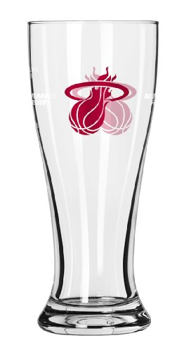 Miami Glass Heat - Boelter Brands NBA Miami Heat 286172 Shot Glass, Team Color, One Size