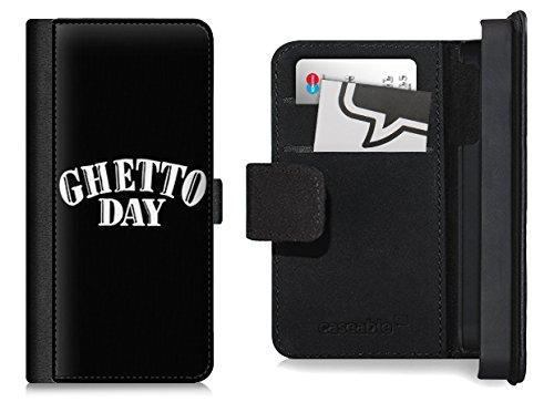 Design Flip Case für das iPhone 6 Plus - ''Ghetto Day Black'' von The Shit Shop
