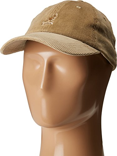 Kangol Men's Cord Baseball, Crafted with Fine Corduroy, Beige (One Size Fits - Mens Corduroy Hat