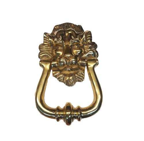 Leo Lion Doorknocker, Door Knocker