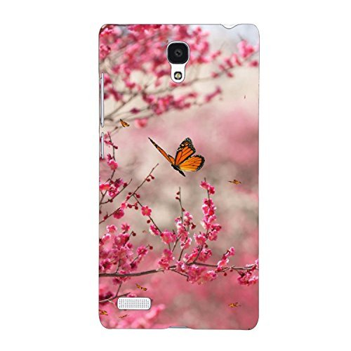 separation shoes aa354 5273f Clapcart Flower Printed Back Cover for Xiaomi Redmi Note 4G/ Redmi Note  Prime -Multicolor