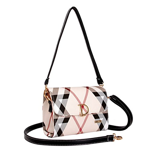 Bags Bag Shoulder Strap JPFCAK Fashion lock Shoulder Classic Crossbody Ms Packet B Double D Temperament qEEw08IR