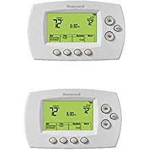 Honeywell RTH6580WF 7-Day Programmable Wi-Fi Thermostat (White 2-Pack)