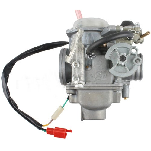 30mm Carburetor w/Electric Choke for 250cc Mopeds Scooters 250 CC Go Karts Dune Buggy Sandrail Carb Roketa Taotao Jonway NST Tank BMS DongFang Supermach Znen Baron