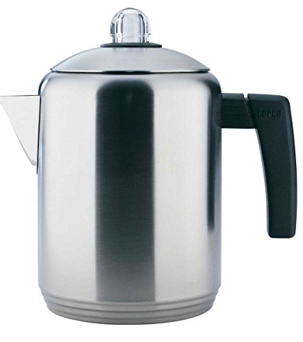 vintage percolator coffee pot - 8
