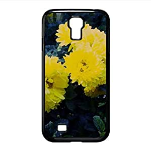 Dahlia Watercolor style Cover Samsung Galaxy S4 I9500 Case (Flowers Watercolor style Cover Samsung Galaxy S4 I9500 Case)