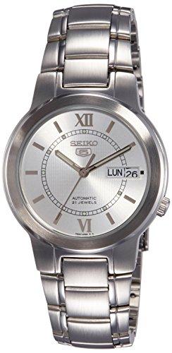 (Seiko Men's SNKA19 Automatic Stainless Steel Watch)