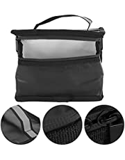Batterijveilige tas, vuurvaste veilige lichtgewicht Lipo-batterijbeschermende tas met een handvat voor RC-vliegtuigbatterijen om batterijen te beschermen