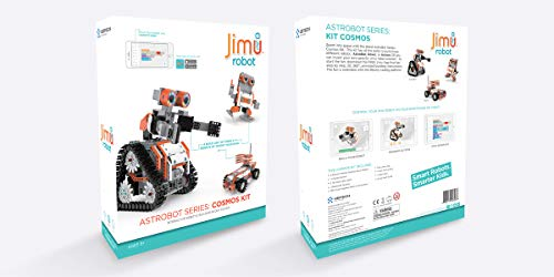 UBTECH JIMU Robot Astrobot Series: Cosmos Kit / App-Enabled Building and Coding STEM Learning Kit (387 Parts and Connectors) by UBTECH (Image #5)