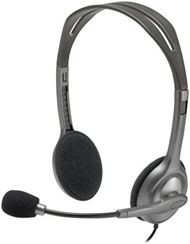 Logitech Stereo Headset H111 (Renewed)