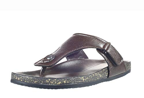 Lazard by Khadim's Men Tan Casual Slip-On Sandal