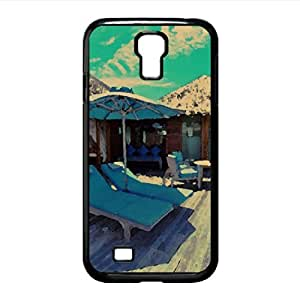 Water Bungalows In Maldives Resort Watercolor style Cover Samsung Galaxy S4 I9500 Case (Islands Watercolor style Cover Samsung Galaxy S4 I9500 Case)