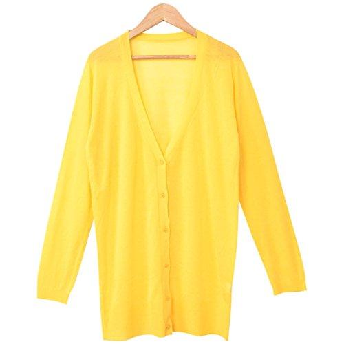 (カービーズ) curvy's ロングカーディガン カーディガン ロング カーデガン ロングカーデ カーデ Vネック 長袖 七分袖 UV 紫外線対策 UV対策 レディース