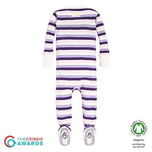1e82ea4f73 Burt s Bees Baby – Baby Girls  Sleeper Pajamas ...