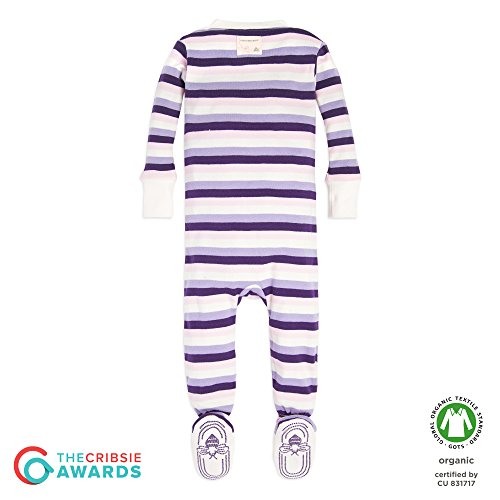 2af831c0e514 Burt s Bees Baby – Baby Girls  Sleeper Pajamas