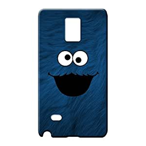 samsung note4 Impact Customized Skin Cases Covers For phone mobile phone shells cookie monster