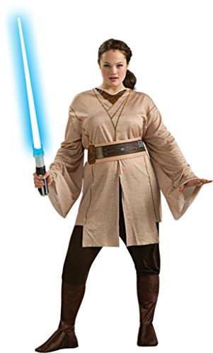 Female Jedi Adult Costume - Plus (Plus Size Jedi Costumes)