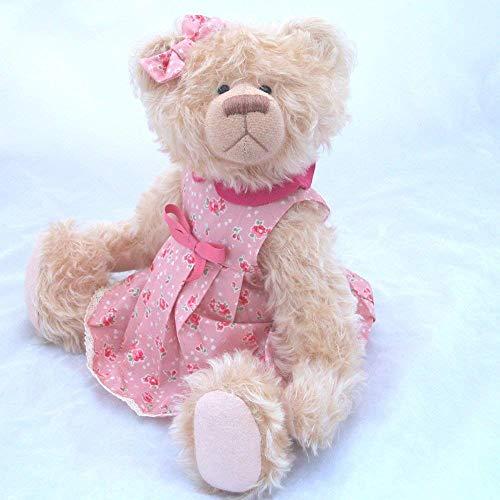 (Ava - Teddy Bear Light Peach Steiff Schulte Mohair Artist Collectable OOAK 15)