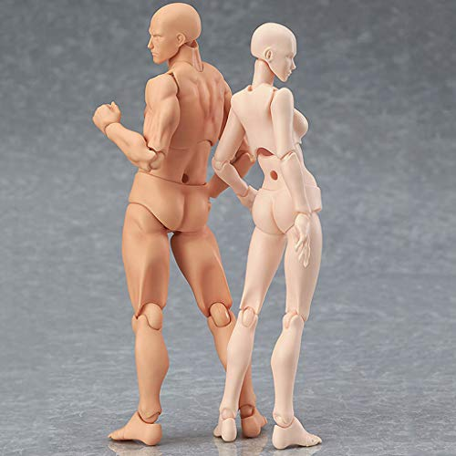 Drawing Figures Clearance , Drawing Figures For Artists Action Figure Model Human Mannequin Man andWoman Set by Little Story