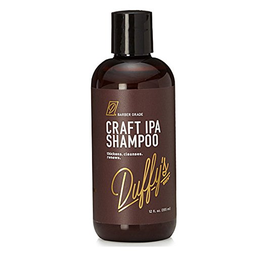 Duffy's Brew Premium IPA Craft Beer Shampoo - Featured in People StyleWatch, Playboy, InStyle & Men's Health... Sulfate, Paraben & Phthalate Free. 100% Vegan. Nourishes, Protects & Color Safe (12 fl oz) (Best Session Ipa Beer)