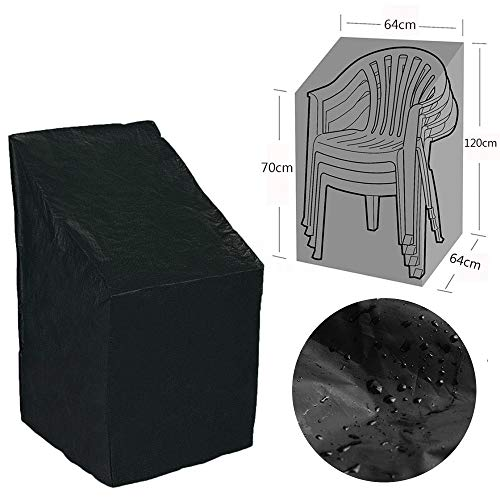 Hot Sale!DEESEE(TM)Waterproof Outdoor Stacking Chair Cover Garden Parkland Patio Chairs Furniture - Aluminum Butterfly Chair