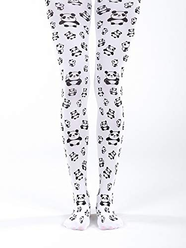 cute printed panda tights superb quality opaque pantyhose cute