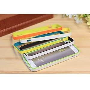 MOFY-Caja ultrafina de TPU Bisel color s—lido para iPhone5/5S , 5