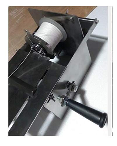 NEW 42mm Manual Hand-rolling Sausage Tying /& Knotting Machine Stainless Steel