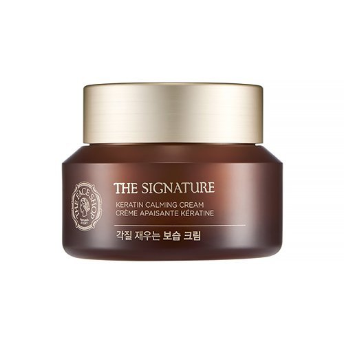 The Face Shop The Signature Keratin Calming Cream 50ml / 2016.11.NEW For Sale
