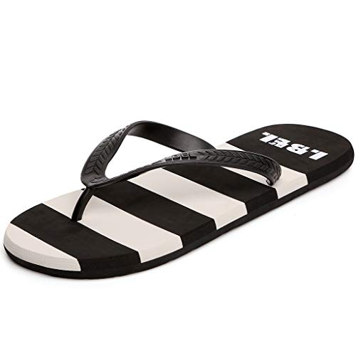 40 Al color Black Size Slippers Dragging Antideslizantes Style Shoes Hombres Libre Cs British Aire Cool Simples Chanclas Beach aX16ccZTH
