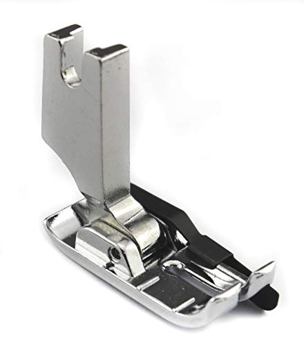 DREAMSTITCH 767820105, P60611 1/4 inch High Shank Quilting Presser Foot with Guide for Babylock,Brother,Janome,Juki,Kenmore,Pfaff,Singer,Viking Sewing Machine ALT:P60616, P60619 7321H (Foot Presser Sewing Machine High)