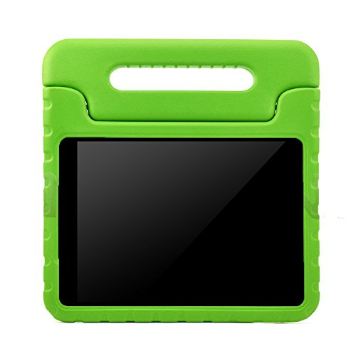 BMOUO Samsung Galaxy Tab A 8.0 (2015) Kids Case - ShockProof Case Light Weight Kids Case Super Protection Cover Handle Stand Case for Kids Children for Samsung Galaxy TabA 8-inch Tablet - Green Color