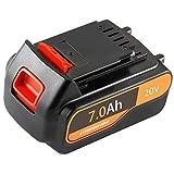 Huibatt 20V 7.0Ah Replacement Battery for Black and Decker 20V Cordless Power Tool 20 Volt MAX Lithium Ion Battery LBXR20 LB20 LBX20 LBXR2020-OPE LBXR20B-2 LB2X4020