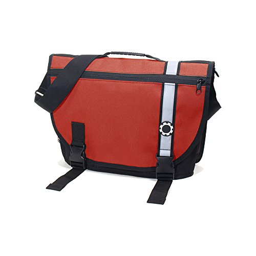 er Bag - Red Retro Stripe (Mens Dadgear Messenger)