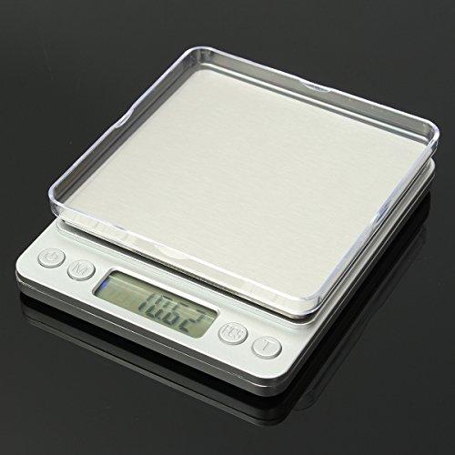 Precision 3000g 0.1g Digital Scale Balances Weight Jewelry Food Diet Postal OZ by Thailand