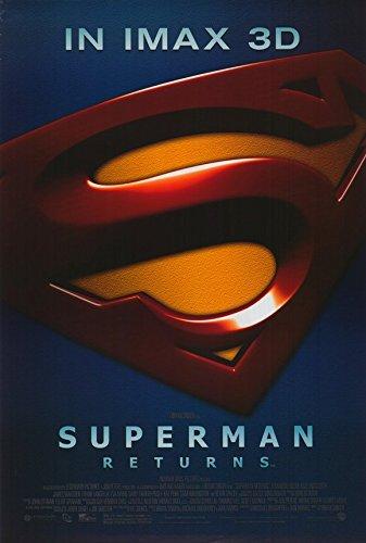 Superman Returns Poster Movie French K 11x17 Brandon Routh Kate Bosworth Kevin Spacey Marlon Brando