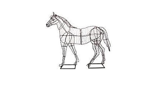 Amazon Com Horse 20 30 41 57 And 81 Topiary Sculpture