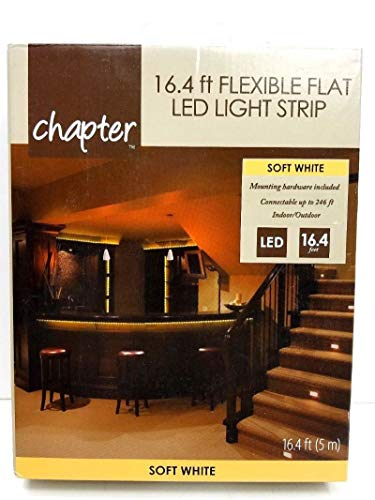 Flexible Flat 16.4 FT. L.E.D. Light Strip by Chapter