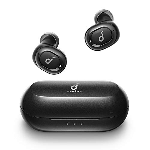 Anker Soundcore Liberty Neo Wireless Earbuds, Premium Sound with Pumping Bass, Secure Fit, Bluetooth 5.0 Headphones, Stereo Calls, Noise-Canceling, Easy Pairing, Sweatproof for Sports, Work Out, Gym