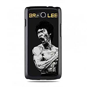 Bruce Lee Pattern Plastic Funda For LG L90