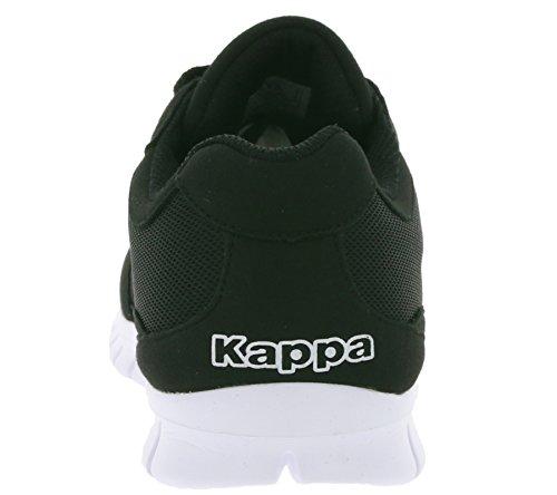 Adulte Mixte Baskets White Rocket Basses 1110 Kappa Black qwHa4x