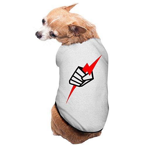 Chuck Liddell Costume - Gray Black UFC Pride Fist Chuck Liddell Pet Supplies Dog Costumes Dog Christmas Sweater