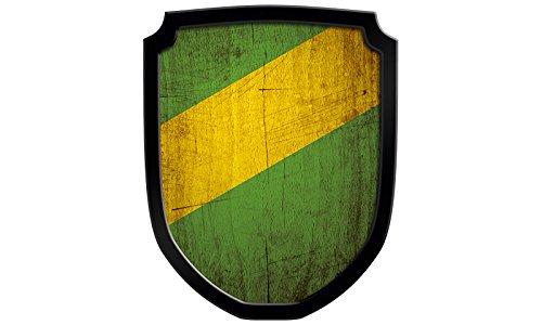 Holzspielerei 33548-G - Wappenschild Blanco, grün