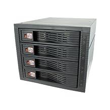 KingWin KF-4001-BK Multi-Bay Internal Rack with 4 Drives, 3.5″ Internal hot swap rack raid-4 bay