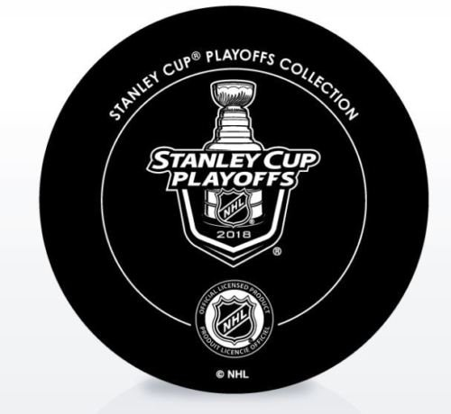 The Hockey Company 2018 Stanley Cup Playoffs 2nd Round Puck Dueling Teams Capitals V Penguins 2ND Round Washington Pittsburgh
