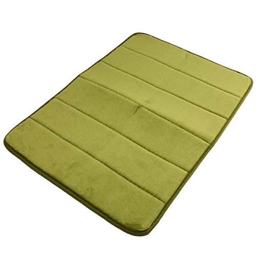 Price comparison product image NPLE-40x60cm Memory Foam Microfibre Bath Room Mat Non-slip Absorbent Rug Pad Carpet